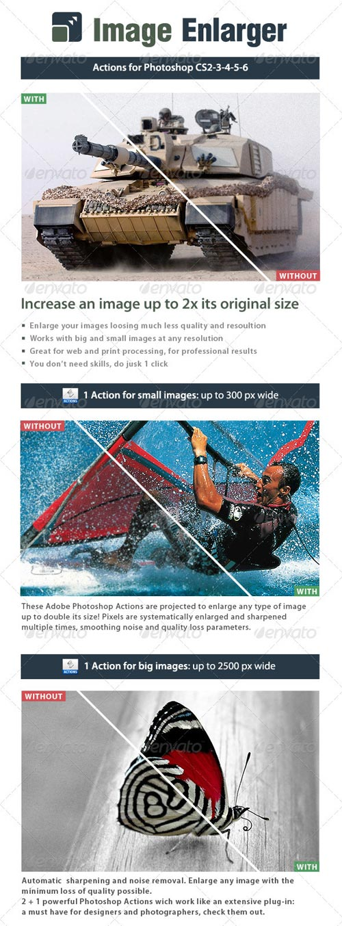 GraphicRiver Image Enlarger - Double size images