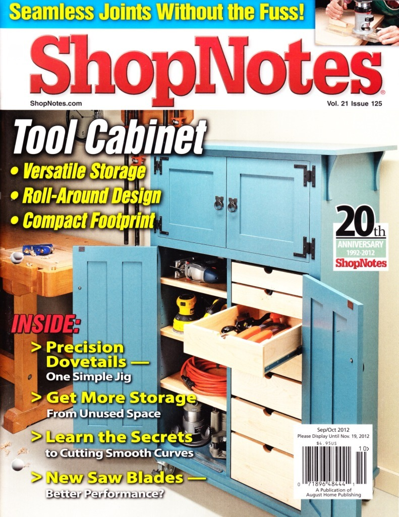 ShopNotes Issue #125 (September - October 2012)