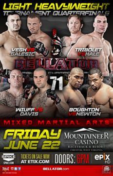 Bellator Fighting Championships 71 (2012) HDTV 1080p