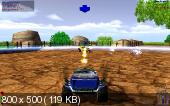 HyperBall Racing / Гонки по джунглям: Игра на выживание (PC/RUS)