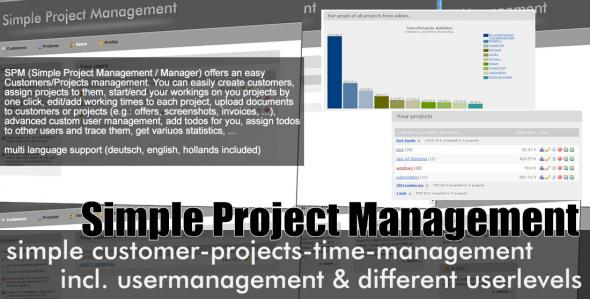 CodeCanyon - SPM - Simple Project Manager v2.1