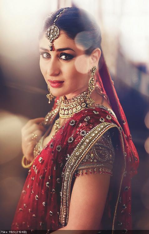 Как вы можете убедиться, глядя на фото невест из Индии, вместо