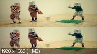 Чудаки 3D / Jackass 3D (2010) BDRip 1080p