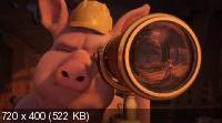 Захватывающие рассказы Шрэкa / Shrek's Thrilling Tales (2012) DVDRip