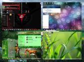 Красивые темы windows 7 (5шт)