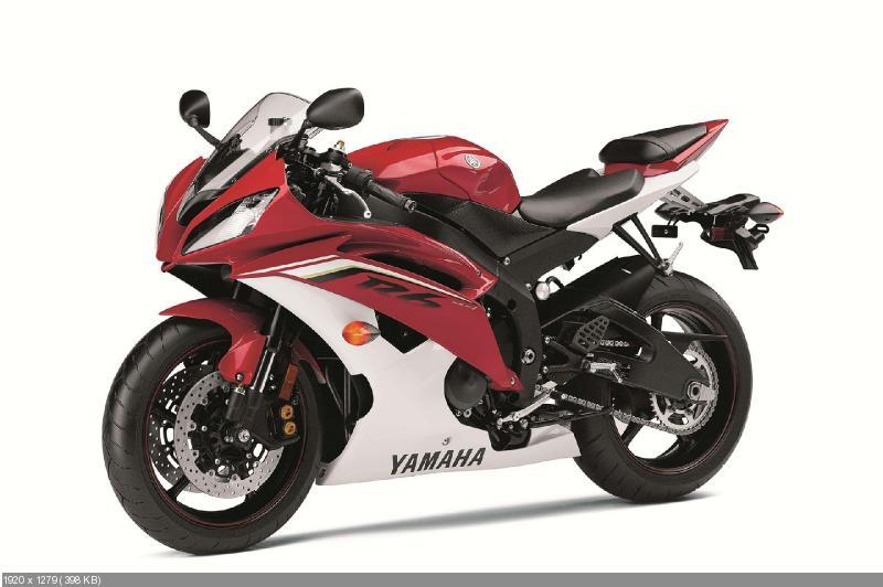 Цвета американской версии Yamaha YZF-R6 2013
