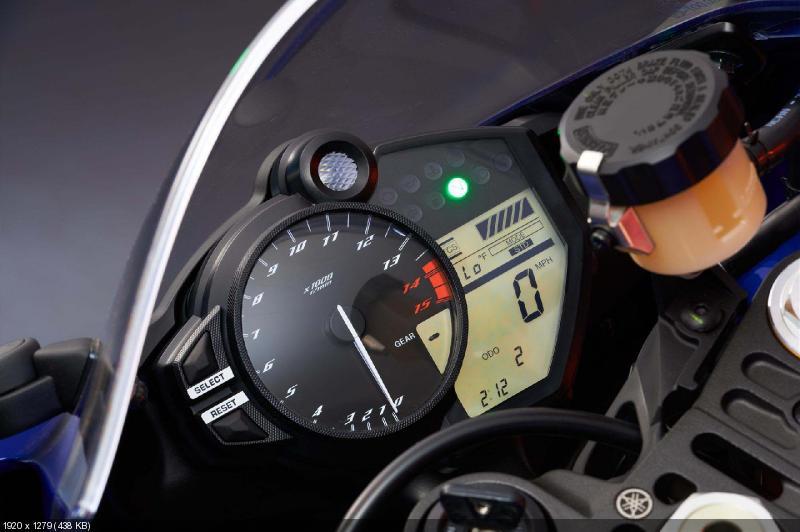 Новые цвета американской версии Yamaha YZF-R1 2013