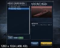 Naval War: Arctic Circle (2012/RUS/ENG/Repack by Fenixx)